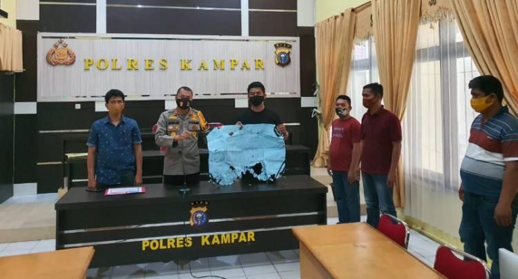 Polres Kampar Tindak Tegas Oknum Ormas Terkait Penutupan Paksa Sebuah Perusahaan UMK