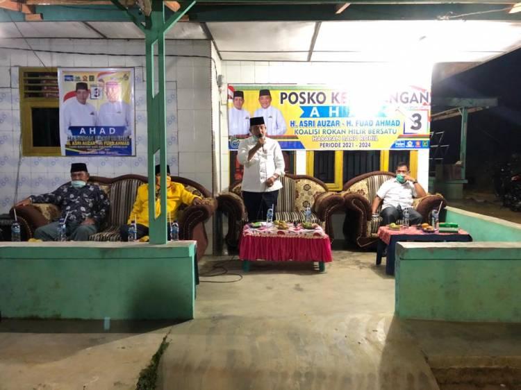 Kampanye Dialogis Pertemuan Terbatas di Kepenghuluan Jaya Agung, Masyarakat Doakan AHAD