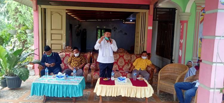 Kampanye di Bagan Sinembah Raya, Paslon AHAD Maju Untuk Mengabdi Demi Perubahan Rohil