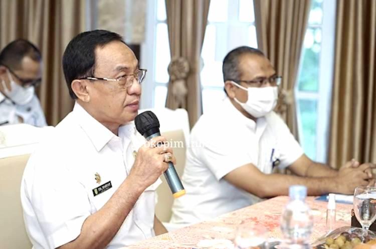 Bupati Inhil HM.Wardan Jadi Pembicara Utama Dalam Acara Sosialisasi Satu Data Indonesia