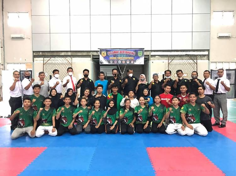 18 Atlet Karate Terbaik Inhil Terpilih dalam Seleksi Akhir Forki untuk Berlaga di Porprov Riau 2022