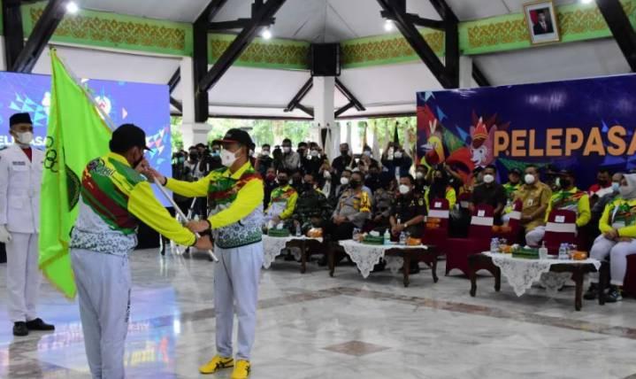Riau Peringkat Ke 6 Klasemen Sementara Peraih Medali Pada PON XX Papua