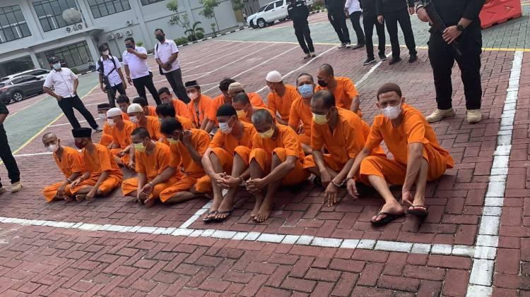 Kapolda Riau Perintahkan Jajaran : DPO Atas Nama Debus Agar Dikejar Dan di Tangkap Dimanapun Berada