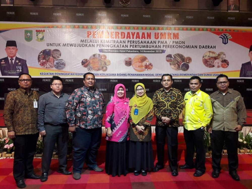 DPMPTSP berdayakan UMKM Melalui Kemitraan Perusahaan guna mendorong Investasi Daerah