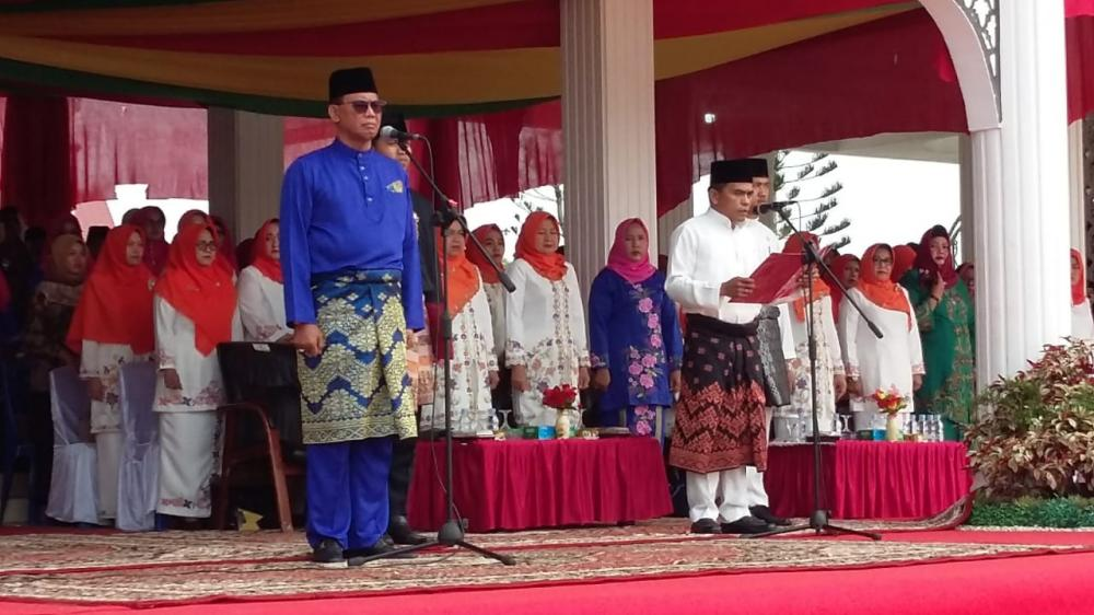 Bupati Rohil Suyatno Ajak Masyarakat Kompak, Wujudkan Rohil Maju, Mandiri Dan Sejahtera.