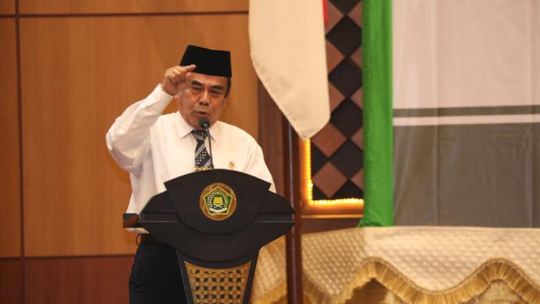Menteri Agama  Republik Indonesia  Fachrul Razi Menekankan Doa Seutuhnya Diubah Ke Bahasa Indonesia