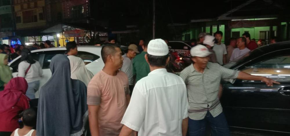 Kecelakaan Lalu Lintas Beruntun Terjadi di Jl M Boya Melibatkan 5 Kendaraan