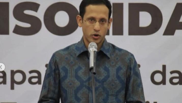 Pidato  Menteri Pendidikan dan Kebudayaan Nadiem Makarim Untuk Guru Bukan Janji Kosong, Semua Berawal dan Berakhir Dari Guru