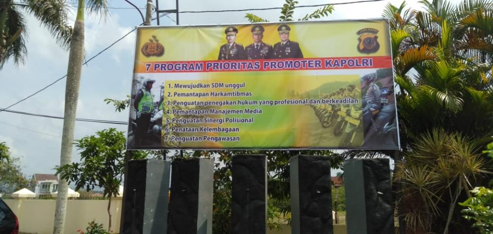 Kapolres Banjar mengamplifikasi Tujuh Prioritas Program Promotor Kapolri