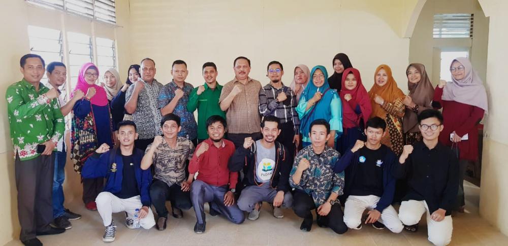 Said Syarifuddin Sekda Kab Inhil Temui 14 Komunitas Peduli Pendidikan dan Seni di Kabupaten Indragiri Hilir