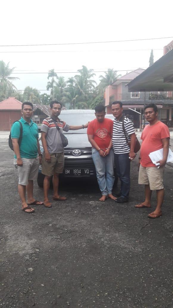 Polsek Siak Hulu Amankan Pelaku Penggelapan Mobil, Barang Bukti Ditemukan di Kota Padang