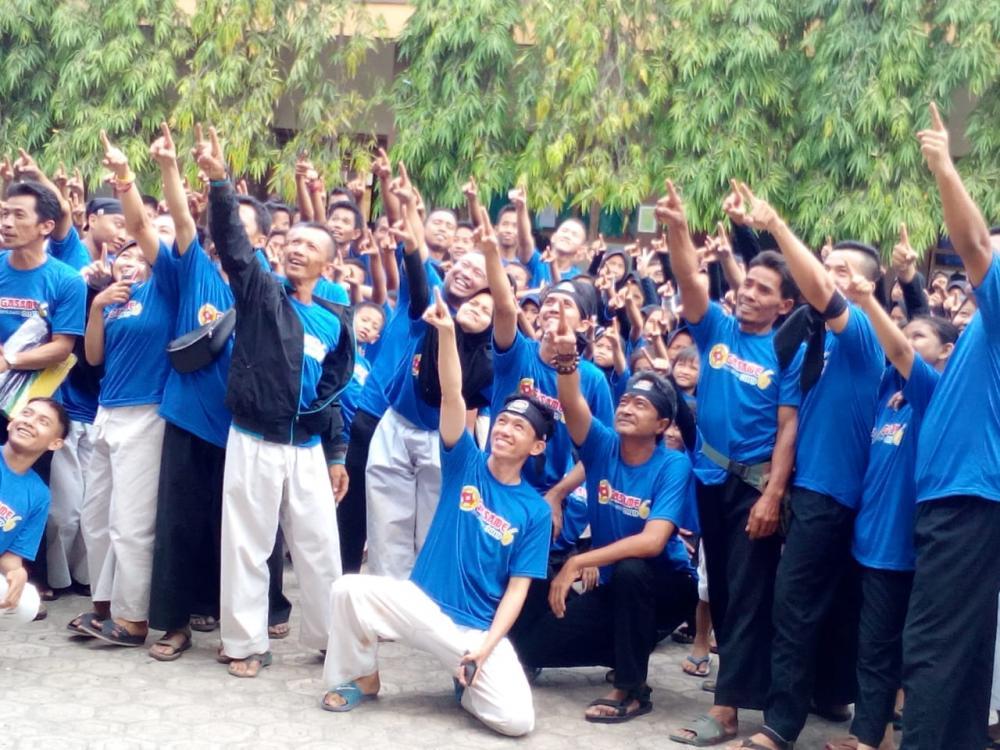 Gasame BKC Cabang Banjar Mendidik Mental, Fisik, Kemandirian Dan Tanggungjawab Anggota