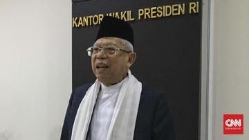 Wakil Presiden KH Ma'ruf Amin Luruskan Rekomendasi Menag Soal Larangan Cadar dan Celana Cingkrang Masuk Instansi Pemerintah