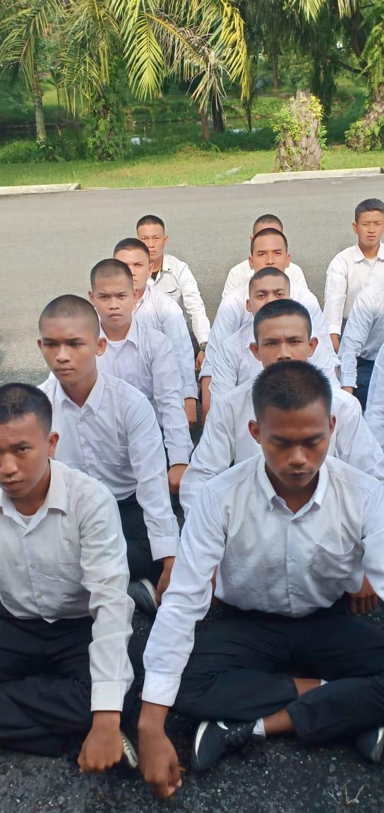 Ini Calon Tamtama Prajurit Karier TNI AD Yang Lulus Wilayah KODIM/ 0314  Indragiri Hilir