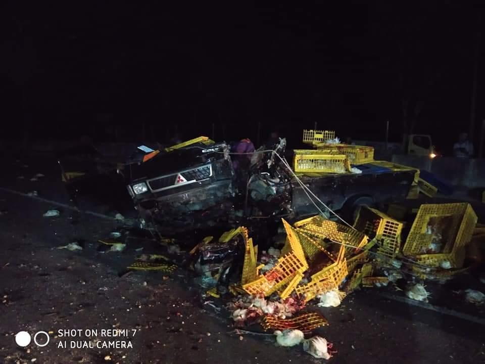 Kecelakaan Maut di KM 21 Rimbo Panjang, 1 Tewas di TKP dan 1 Luka Berat