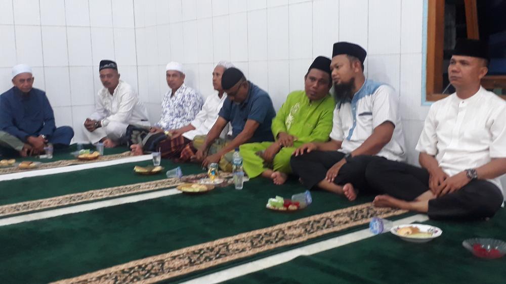 Camat  Rupat Hadiri Peringatan Maulid Nabi Muhammad SAW di Masjid  Nur ilham