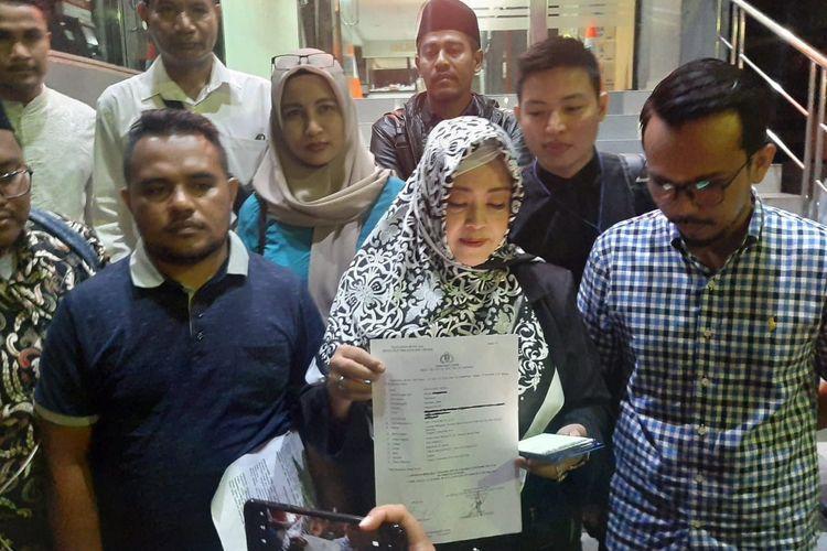 Anggota DPD RI Fahira Idris Melaporkan Ade Armando Karena Unggah Meme Foto Anies Baswedan