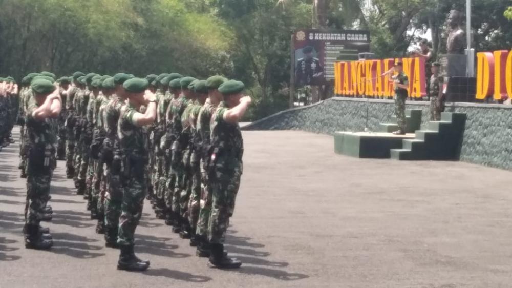 Raider 323 Buaya Putih Kostrad Terjunkan 450 Prajurit ke Papua