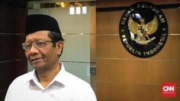 Mahfud MD : Jokowi Pernah Lapor Kasus Besar Ke KPK Tapi Takkunjung Di Ungkap