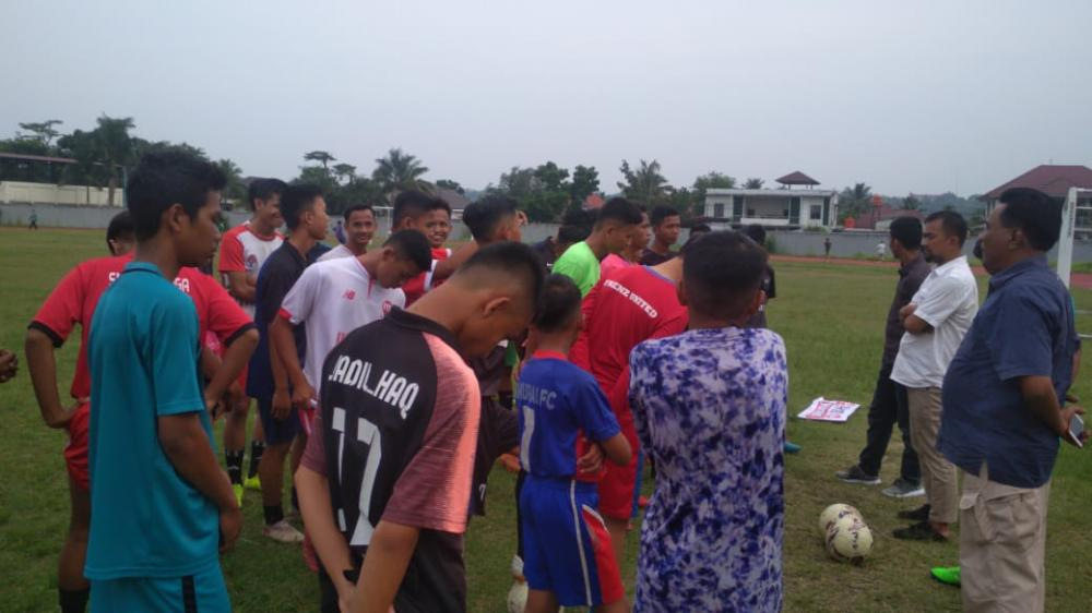 Seleksi Tim PSBS U-17 Menuju Piala Suratin Riau
