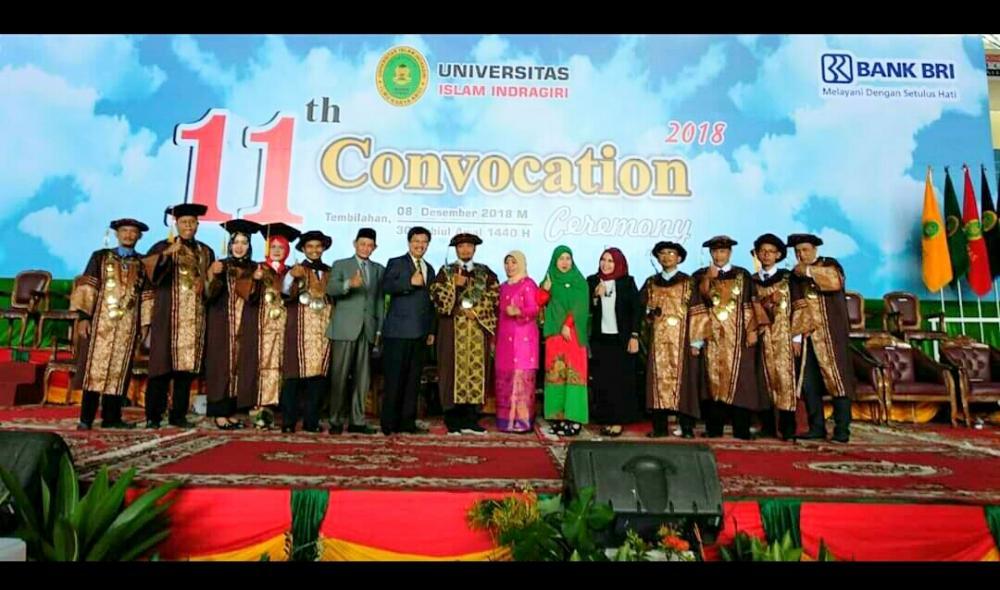 Universitas Islam Indragiri Akan Mewisuda Sebanyak 244 Yang Tersebar  Dibeberapa Fakultas
