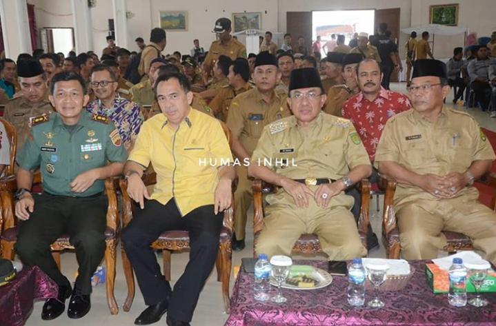 Bupati Inhil HM Wardan Minta Pada Leader dan Fasilitator DMIJ Untuk Menyusun Potensi Desa