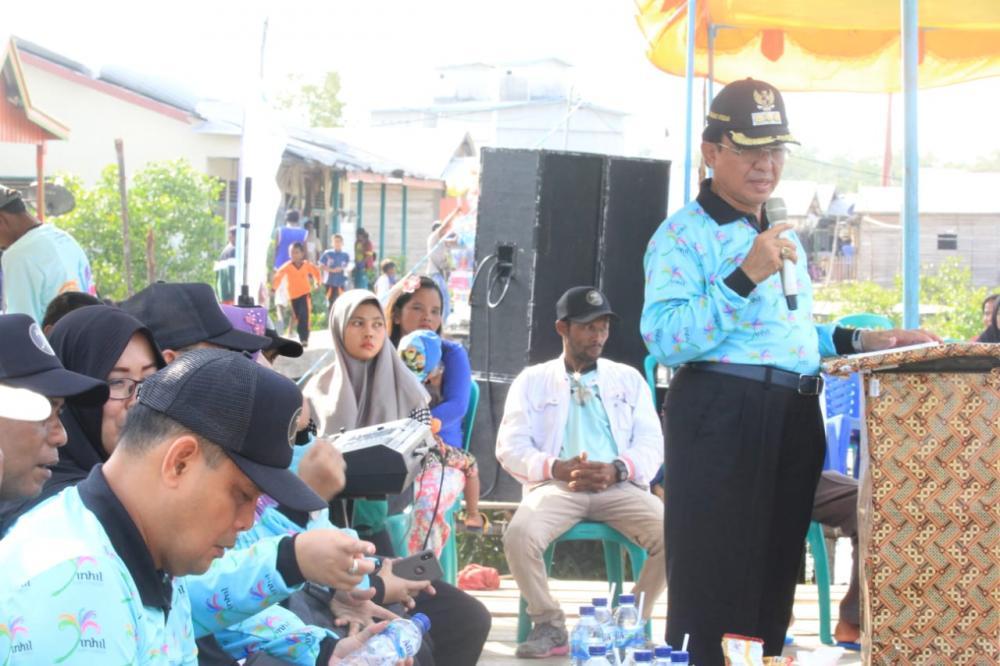 HM Wardan Membuka Secara Resmi Manongkah Tahun 2019 di Desa Tanjung Pasir