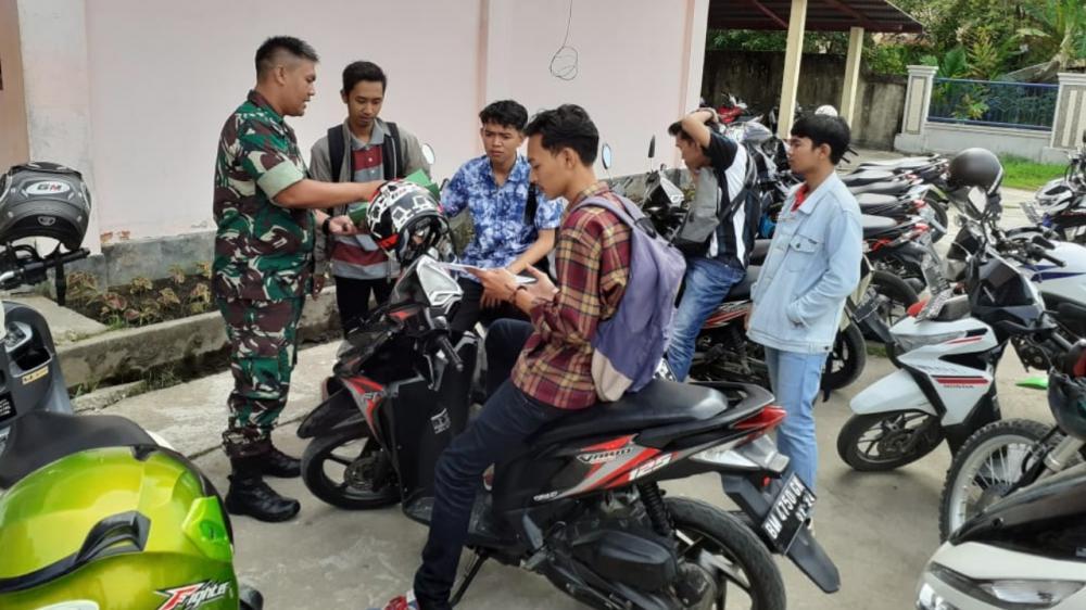 Jajaran Kodim 0314/Inhil Mendapat Kuota 48 Orang Untuk Calon  Tentara Nasional Indonesia Tahun 2019