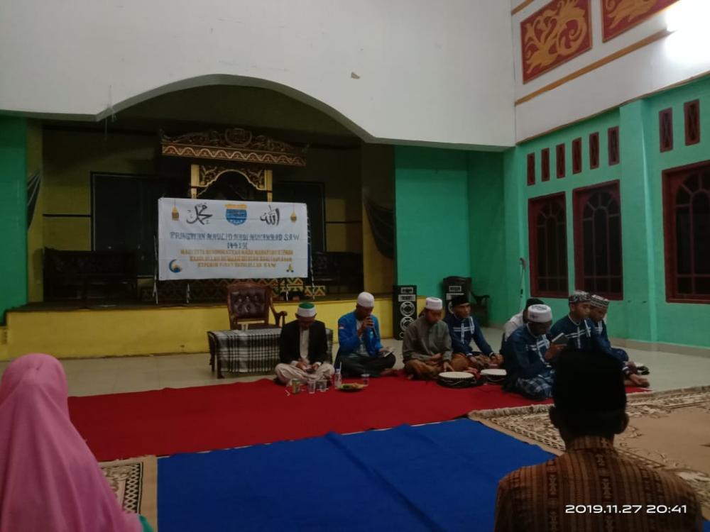 PK PMII Hadirkan Dekan FIAI, Peringati Maulid Nabi Muhammad SAW  di LAMR
