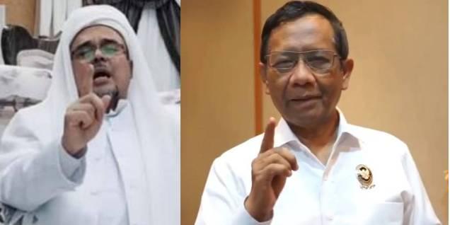 Politisi PDI P Kapita Ampera Sentil Menkopolhukam Mahfud MD Soal Kepulangan Habib Rizieq Shihab