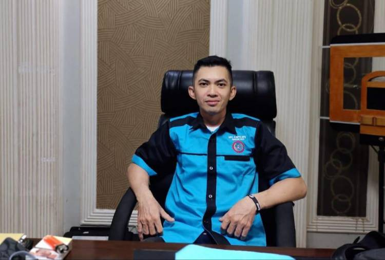 Arip Budiman Jabat Ketua Pimpinan Unit Kerja F.SPTI-SPSI Simpang Gaung