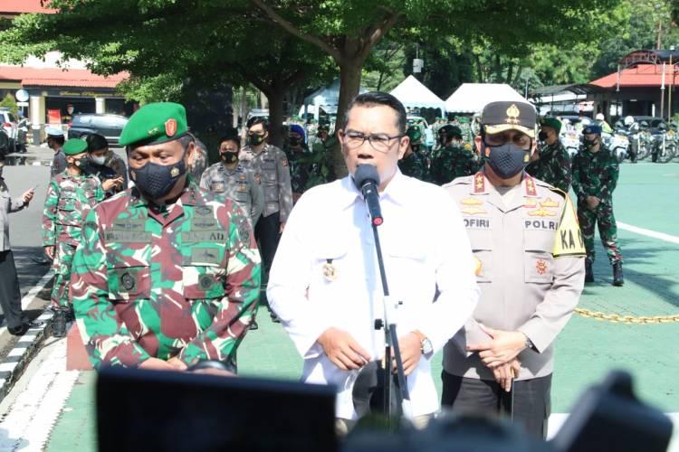 APEL KONSOLIDASI SINERGI TNI, POLRI DAN APARAT PEMDA DI PROVINSI JAWA BARAT DALAM RANGKA PENGAMANAN PILKADA SERENTAK TAHUN 2020*