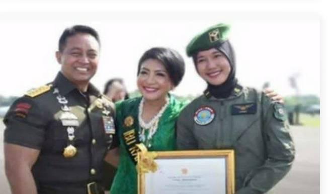 Kisah Anak Penjual Jagung,Jadi Pilot Di TNI AD