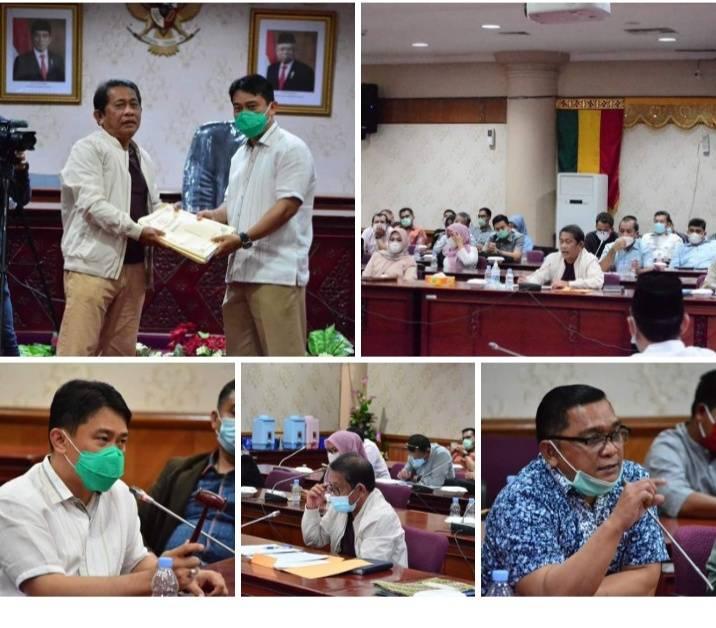 Banggar DPRD Riau Gelar Rapat Kerja Dengan TAPD Pemprov Hingga Larut Malam