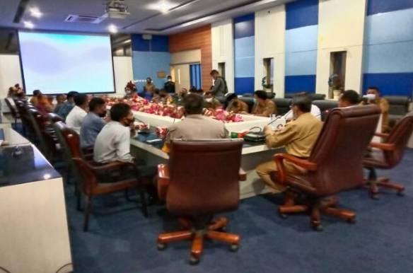 Rakor Penanganan Darurat Bencana, Pjs Bupati Rohul Minta BPBD Segera Bentuk TRC