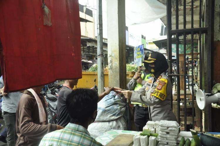 Kompak, Walikota Banjar bersama Kapolres Banjar Sampaikan Imbauan Protokol Kesehatan