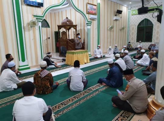 Pjs Bupati Rohul Hadiri Acara Maulid Nabi Muhammad SAW di Masjid Al-Muhajirin Pematang Berangan