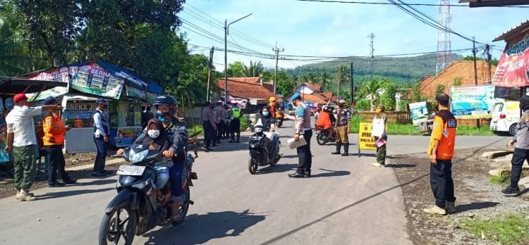 Polres Banjar dan Instansi Terkait yang Tergabung Dalam TP3KC, Terus Laksanakan Operasi Yustisi