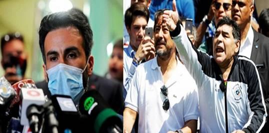 Curiga dengan Kematian Ayahnya, Putri Maradona Laporkan Dokter Pribadi ke Polisi