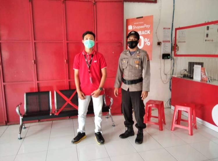 Personil Patroli Polsek Langensari, Sampaikan Imbauan Protokol Kesehatan Secara Intensif