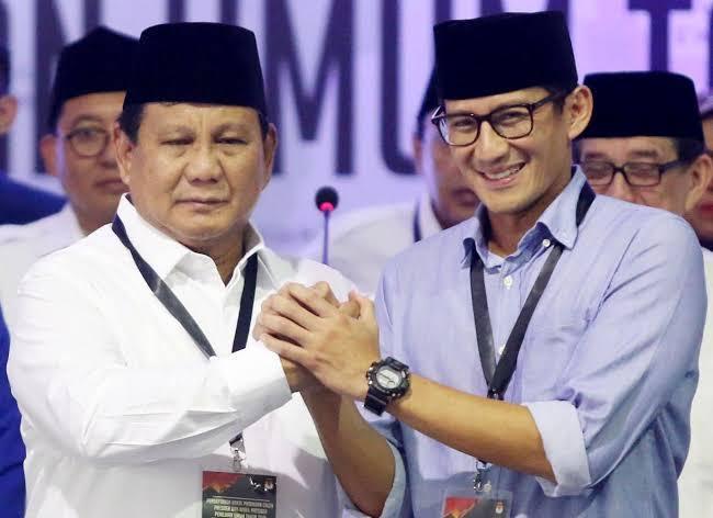 Cawpres No 02 Sandi Akan Membidik Jawa Tengah 'Sarang Musuh'Yang terkenal Sarang Banteng PDI P