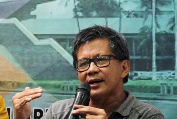Kasus Ratna Sarumpaet, Rocky Gerung Penuhi Panggilan Polisi