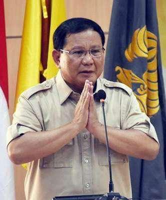 Prabowo: Saya Tak Pantas Jadi Imam Sholat,Saya Tahu diri Betul,Harus Yang lebih Tinggi Ilmu Agamanya
