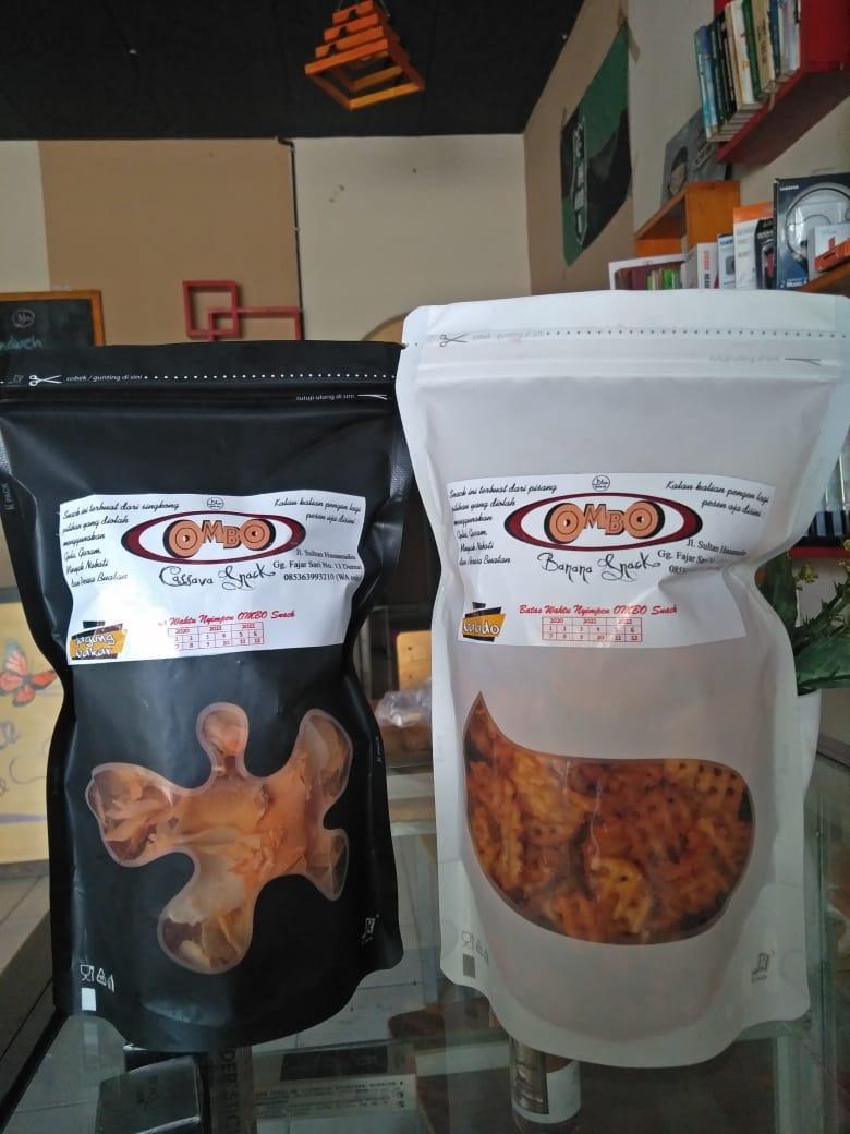 Launcingnya Produk OMBO Banana Snack dan Cassava Chips dari anak Millenial Kota Dumai