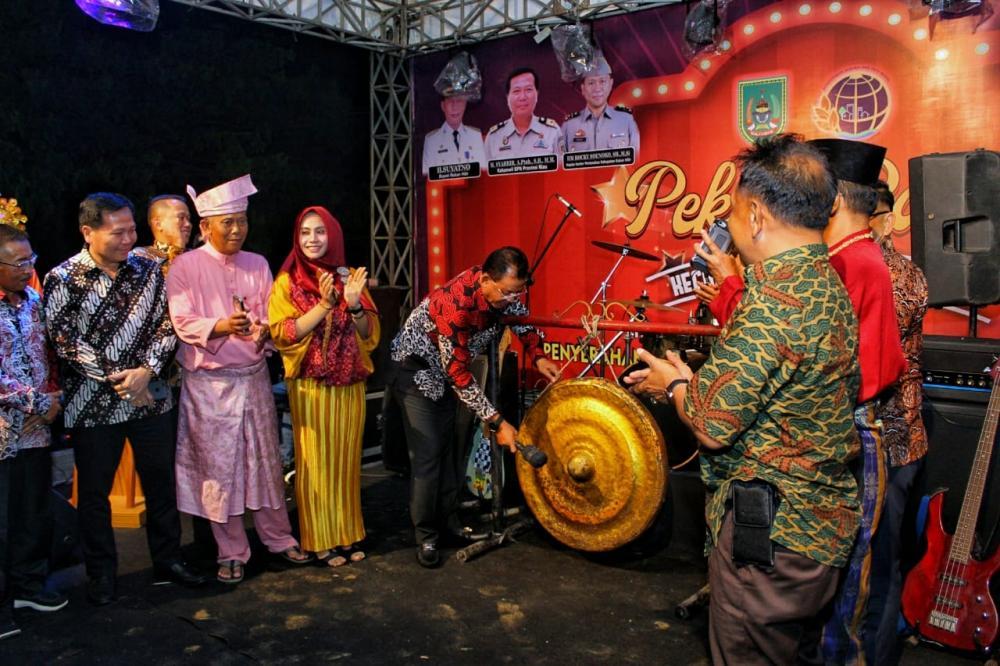 Bupati Rokan Hilir Buka Pekan Raya Bagan Sinembah