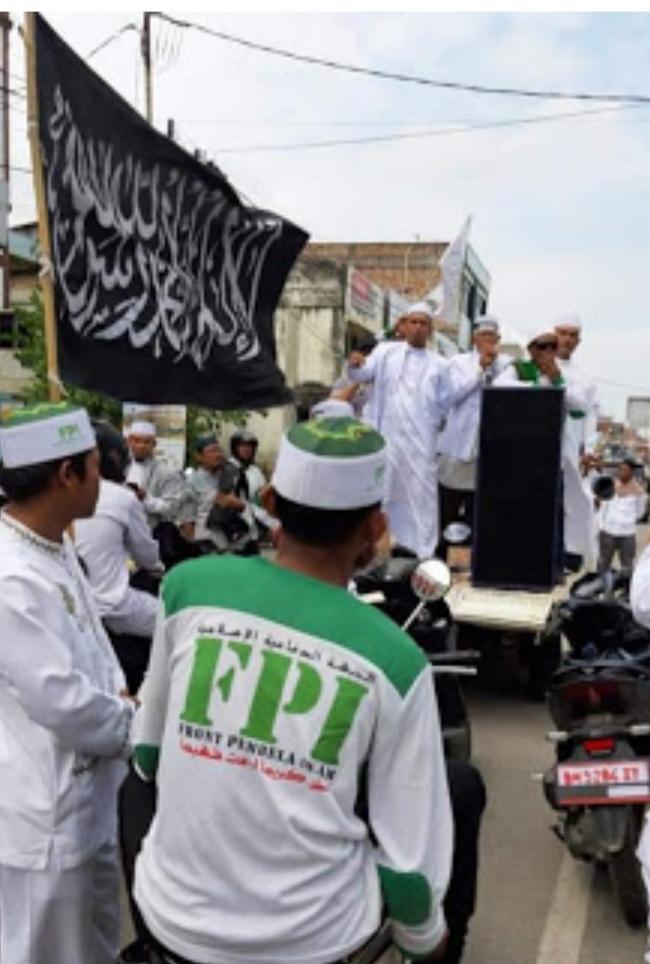 """""""11 Tuntutan FPI Kota Dumai dalam Aksi Damai di simpang Polres Kota Dumai"""""""