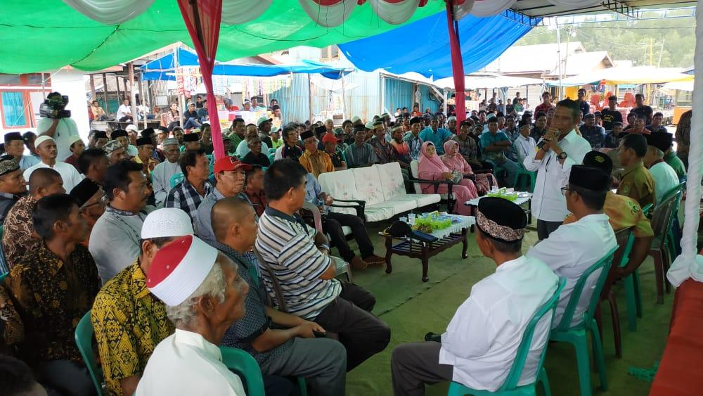 Hasanuddin Anggota DPRD Kab Inhil Komisi III Reses Menampung Aspirasi Masyarakat