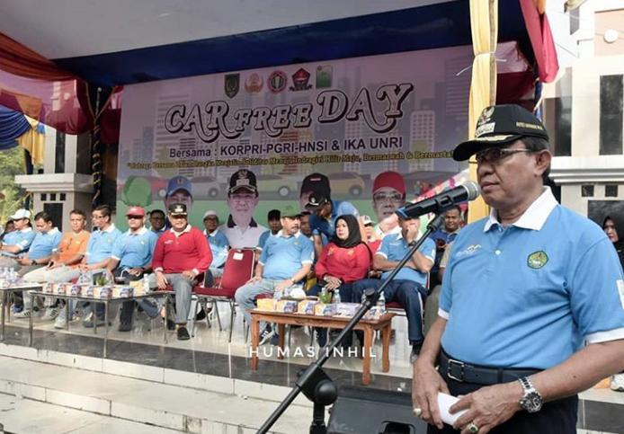 Peringati Hari AIDS Sedunia,HM Wardan Sebut Angka Pengidap HIV/AIDS Di Inhil 200 Orang Lebih.