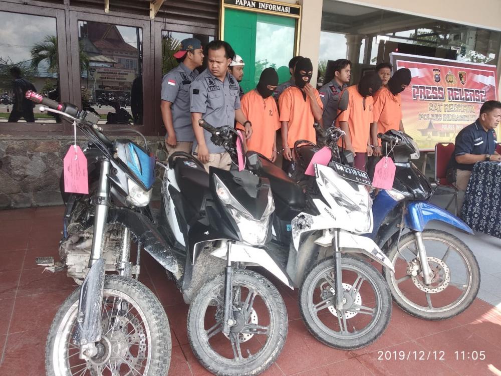 Ini Modus Pencurian Sepeda Motor(Curanmor) Di Tembilahan