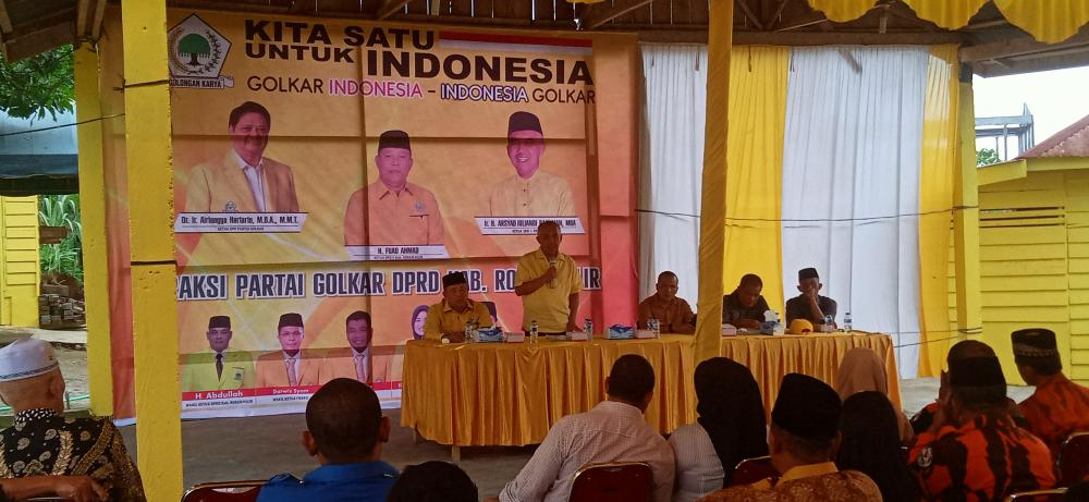 Andi Rachman Gandeng Anggota DPRD Rohil Jemput Aspirasi Warga